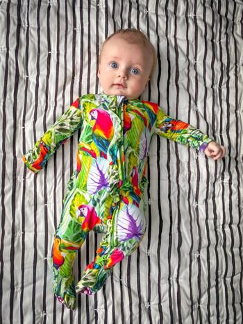 Little Bum Bums Tropic Like It's Hot Ruffle Footie Review