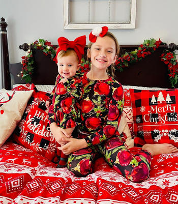 Little Bum Bums Happy Holly-days Ruffle Dress Review