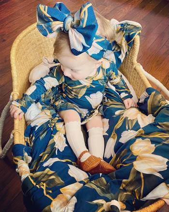Little Bum Bums Read My Tulips Ruffle Dress Review