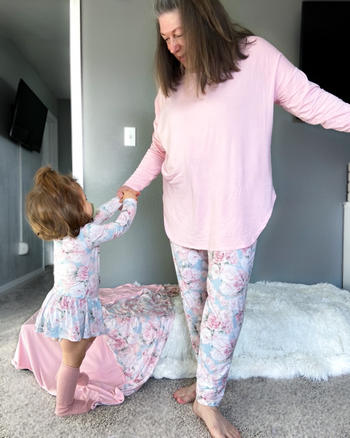 Little Bum Bums Solid Pink Mama Shirt Review