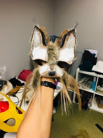 Wintercroft Cat Half Mask Review