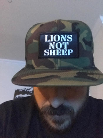 Lions Not Sheep Lions Not Sheep OG Hat (Camouflage) Review