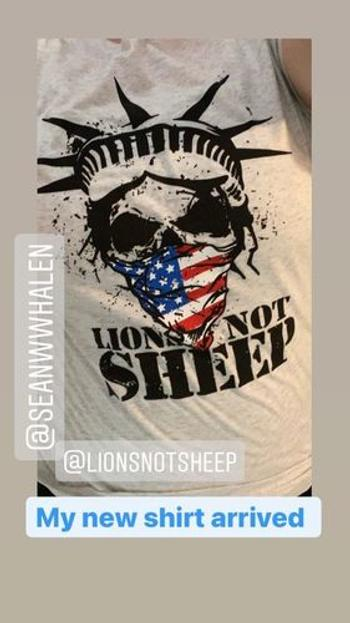 Lions Not Sheep LIBERTY MASK Womens Tank Review