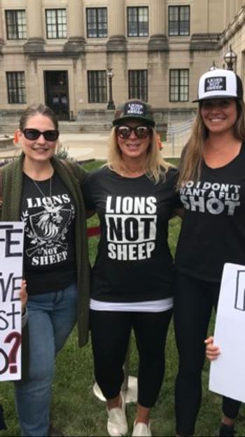 Lions Not Sheep STRAIGHT OUTTA LIONS NOT SHEEP Womens Tee Review