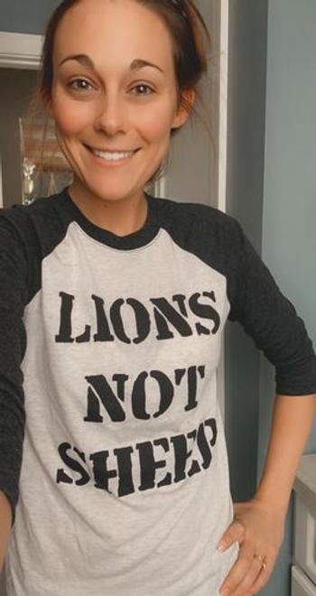 Lions Not Sheep LIONS NOT SHEEP Baseball Tee Review