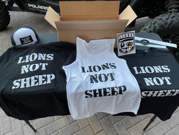 Lions Not Sheep Ambassador Package Review