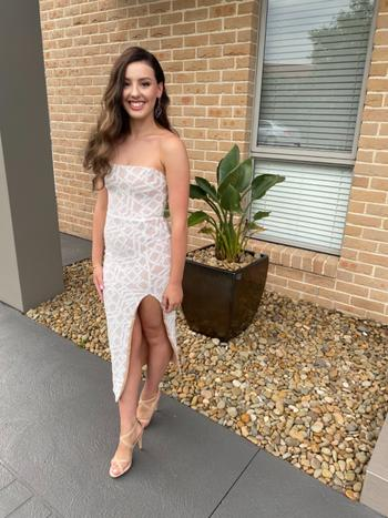 Dress for a Night NOOKIE Eclipse Midi (White) - RRP $329 Review