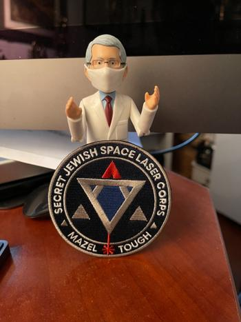 Dissent Pins Secret Jewish Space Laser Corps Patch Review