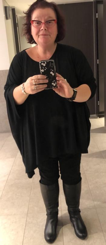 Harlow Give Me a Reason Asymmetrical Top - Black Review
