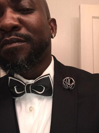 Bow SelecTie Black on White Bow Tie Review