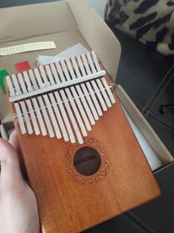 TrendyVibes.CO Portable Wooden Instrument Finger Piano Kalimba Review
