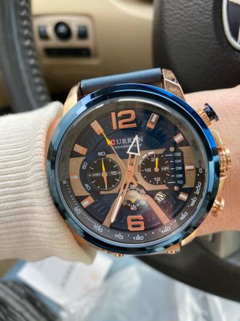 TrendyVibes.CO Casual Waterproof Chronograph Quartz Watch For Men Review