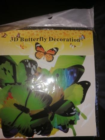 TrendyVibes.CO 12Pcs 3D Butterflies Wall Sticker For Home Decorations Review