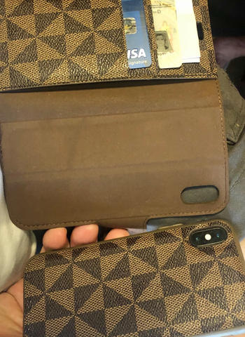 Caseco iPhone XR - Park Ave Magnetic Folio Wallet Case - Brown Review