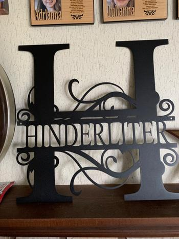 Bluewater Decor Split Letter Monogram Review