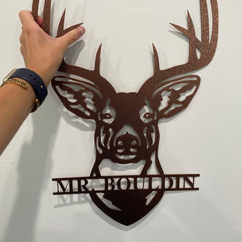 Modernist Metal Deer Monogram Review