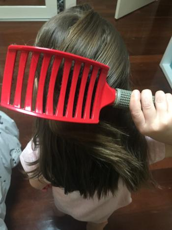 Happy Hair Brush Red Review