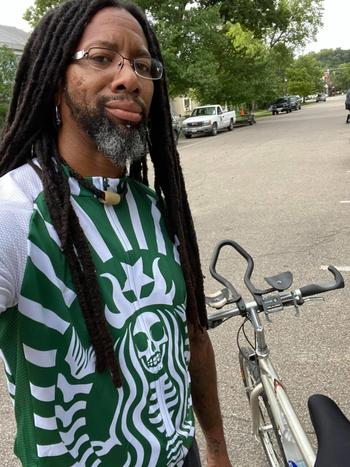 Outdoor Good Store Starbucks Skeleton Coffee Retro Cycling Jersey Bib Review