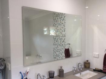 Builder Beveled Bathroom Mirror Shine Mirrors Australia
