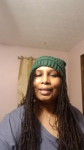 Beautifully Warm, LLC Winter Hat | Satin Lined | Natural Hair | Ultra Violet Beanie Review