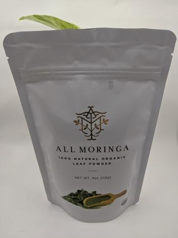 All Moringa Premium 100% Organic Raw Moringa Oleifera Leaf Powder Review