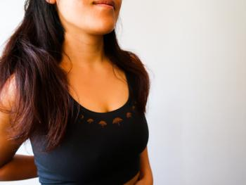 Purusha People Twilight Shroom Moon Forest Fiber Yoga Top Review