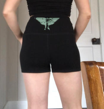 Purusha People Midnight Luna Moth Forest Fiber Shorts Review