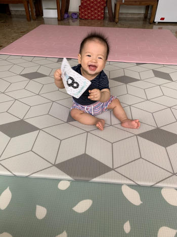 Little Wiwa Labyrint Grey Play Mat [Generös] Review