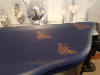 Frenchic Furniture Paint Busy Bees Stencil Review