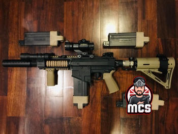 Modern Combat Sports TCA Tactical Compact Stock - fits 13ci/15ci air tanks Review