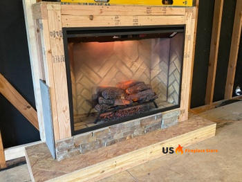 US Fireplace Store Dimplex Revillusion 42 Built-in Electric Firebox Review