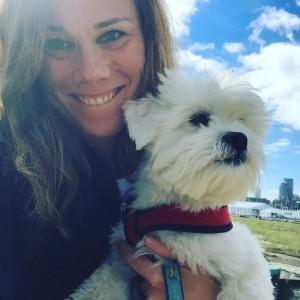 A Camberville Dog Treats Customer
