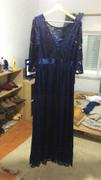 Ever Pretty EU See-Through Floor Length Lace Dress with Half Sleeve Review