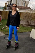 FIT ARMY FEATHER BLUE HIGH WAIST LEGGINGS Review