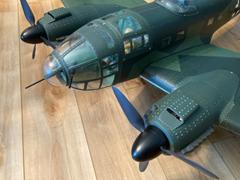 Motion RC Black Horse Heinkel He-111 1750mm (68.9) Wingspan - ARF Review