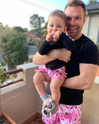 Bronte Co Bronte - Father/Son Flamingo Board Shorts Combo Review