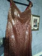 Ever-Pretty US Plus Size Off Shoulder Sparkles Sequins Evening Gown Review