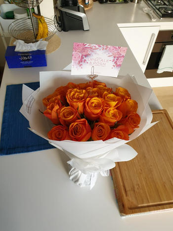 Upscale and Posh Luxury Coral Peach Roses Review