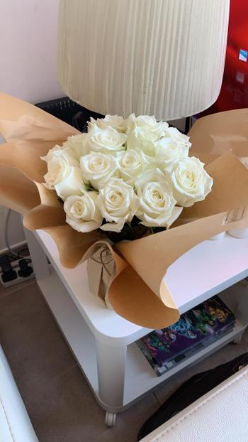 Upscale and Posh Luxury White Roses Review