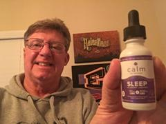 Calm by Wellness Hemp CBD Sleep Oil Tincture Review