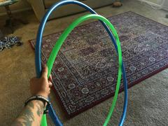 UltraPoi.com UV Glow PolyPro Hula Hoop Review