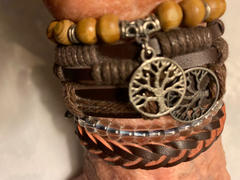 Treehuggers Bracelets Treehuggers Handmade Recycled Leather 3Pc: Plant a tree with every bracelet  Review