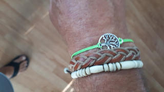 Treehuggers Bracelets Treehuggers Amazon Charm Band: Plant a tree with every bracelet  Review