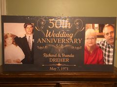 365Canvas - Custom Photo Gifts 50th Wedding Anniversary Photo Canvas Gift Review