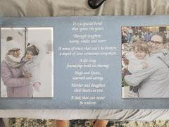 365Canvas Mother and Daughter Poem Photo Canvas Print, Gift for Mom Review