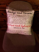 365Canvas Personalized Song Lyrics Suede Pillow With Names And Date Review