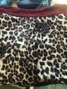 Weslily.com Short Sleeve Leopard Printed Splicing T-Shirt Review