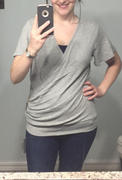 Weslily.com V-neck Solid Casual Knitted Tops Review