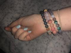 Kumi Oils Amazonite Light Galaxy Diffuser Bracelet Review