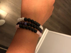 Kumi Oils Pink, White, & Purple Diffuser Bracelet Bundle Review